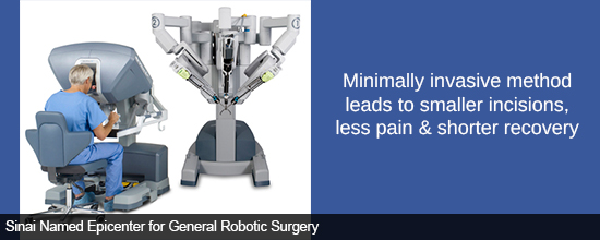 Minimally invasive method leads to smaller incisions, less pain & shorter recovery