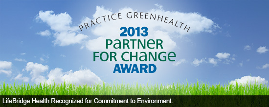 LifeBridge Health recognized for commitment to environment